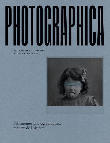 Couverture du 1er numéro de Photographica